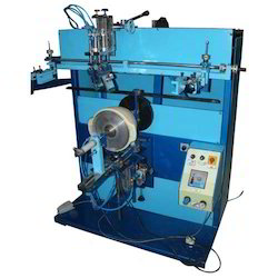 Round Glass Bottle Screen Printing Machine