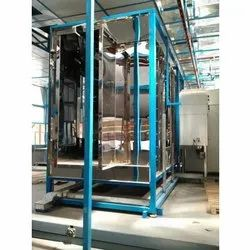 NGVT Powder Coating Booth, Automation Grade: Semi-Automatic