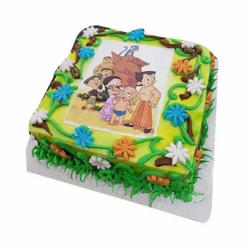 Kids Cartoon Cake At Rs 700 Kilogram Cake Id 16674396012