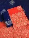 Unstitched Batik Salwar Suit