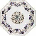 Marble Stone Inlay Coffee Table Top, Inlay Table Top
