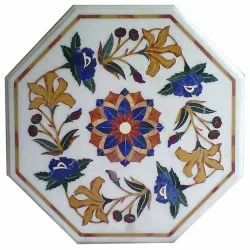 Marble Inlay Table Top