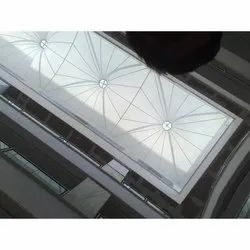 Shopping Mall Atrium Tensile Fabric Structure