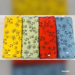 58 Panna Printed Rayon Fabric