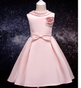 Cute Pink Applique Dress