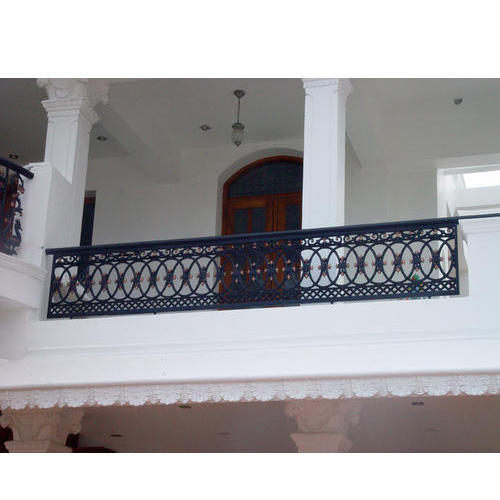 Cast Iron Balcony Railing