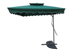 Patio Umbrella-Side Pole-Pull Push-2.5M-Green