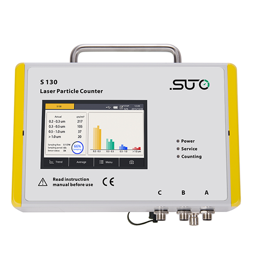 SUTO S 130 Laser Particle Counter, Measuretest Instruments