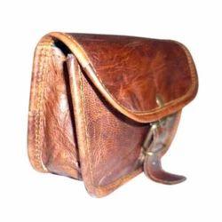 Genuine Leather Brown Small Ladies Bag