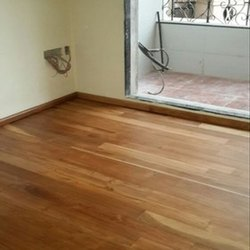Solid Teak Wooden Flooring