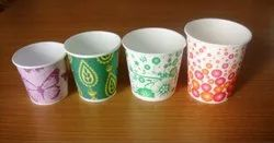 Colorful Disposable paper cups, Packet Size: 100