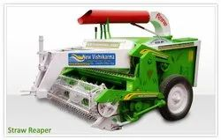 35 Hp Mild Steel New Vishavkarma Straw Reaper, For Agriculture