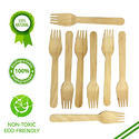 Brown Wooden Fork, Size: 140mm, 160mm