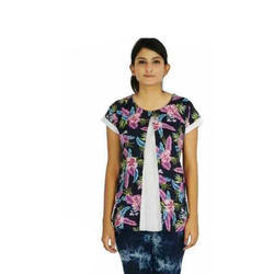 Tinytoy Medium and XL Ladies Half Sleeve Top