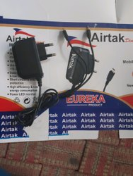 Black Electric 2 In 1 Mobile Charger, for Mobile Charging