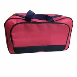 PVC Red Travelling Luggage Bag