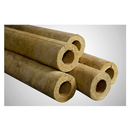 Mineral wool pipe section intech insulation private for Mineral fiber pipe insulation