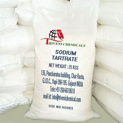 Technical Grade Crystals Sodium Tartrate, Pack Size: 25 kgs
