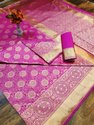 Banarasi Weaving Soft Silk Saree