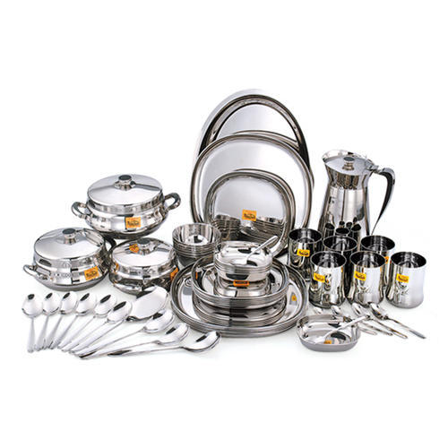 stainless steel dinner set at rs 9700 set george town chennai
