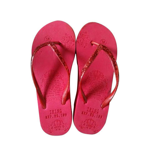 47b23dc4744e Kids PU Red Flip Flop