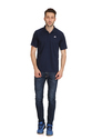 Adidas Men''s Blue Polo T-Shirt