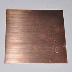 Stainless Steel Rose Gold Matt Sheet