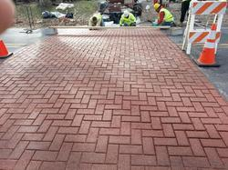 Red Heavy Duty Mono Paver