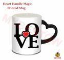 Multicolor Ceramic Personalized Magic Mug, Size: 11oz, Usage: Office