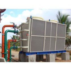 Fiberglass Reinforced Polyester Closed Loop Coil Dry Cooling Tower, Induced Draft, Cooling Capacity: 100kw To 50mw