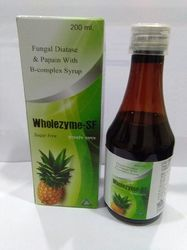 Fungal Diastase and Papain with B-Complex Syrup