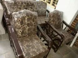 5 Seating Teak Wood Sofa Set