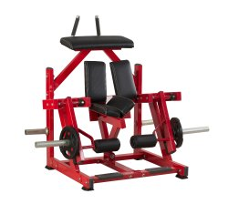 Realleader USA Plate Load ISO - Lateral Kneeling Leg Curl, Model Number: Hs 1030, for Gym