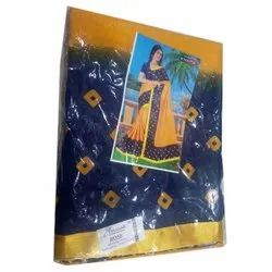 Georgette Party Wear Ladies Fancy Saree, 6.3 m (with blouse piece), Packaging Type: Plastic Bag