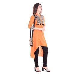 Yash Gallery Machine Wash Printed Cotton Kurti