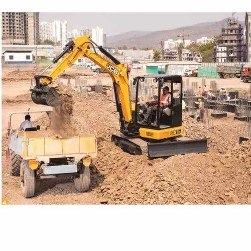 JCB JCB50Z 5520 Kg Mini Excavator - JCB India Limited