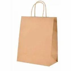 Plain Brown Paper Grocery Bag, Capacity: 5.5 Kg