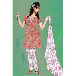 Bandhani Print Suit
