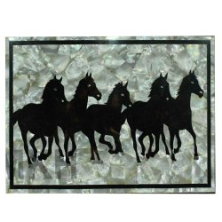 Marble Dining Table Top Mosaic Stone Art