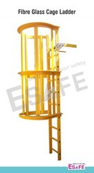 Fibre Glass Cage Ladders