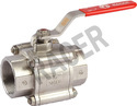 Socket Weld Investment Casting Ball Valve