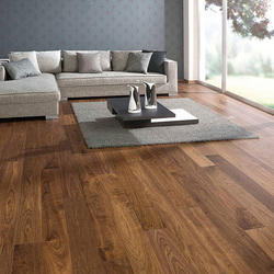 Laminated Wooden Flooring, for Home & Office, 8-12mm