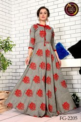 Designer Heavy Wedding Wear Anarkali or Gown