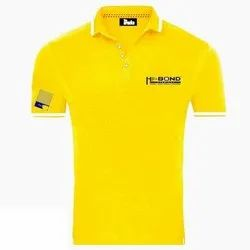Male Mens Yellow Promotional T Shirt, Packaging Type: Box