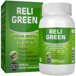 Religreen Green Coffee Beans Extract Capsules