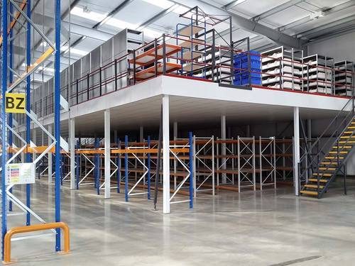 Metal Mezzanine Steel mezzanine floor mezzanine floors seema slotted angles steel mezzanine floor sisterspd