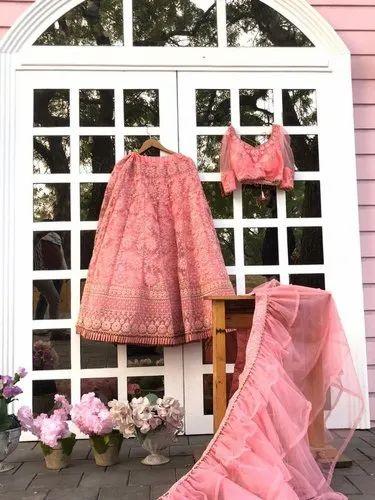Heavy Embroidery Lehenga