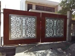 STAINLESS STEEL DESIGNER GATE