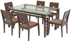 Hatil Wooden Dining Table Set, For Home