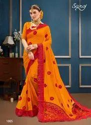 Designer Party Fancy Saree